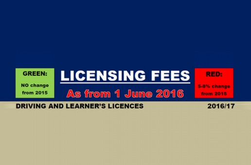 Licence Fees 2016
